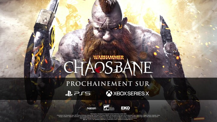 Nacon Connect 2020 - Warhammer Chaosbane s'annonce sur PlayStation 5 et Xbox Series