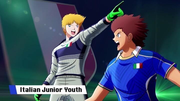 Aperçu de l'équipe d'Italie dans Captain Tsubasa: Rise of New Champions