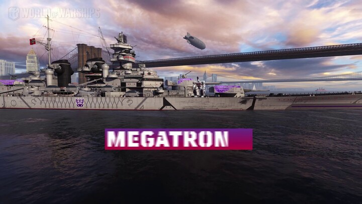 Les Transformers se déploient dans World of Warships