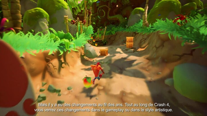 Lou Studdert, producteur du jeu, présente Crash Bandicoot 4: It's About Time