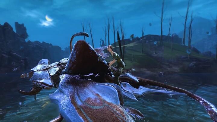 Le voldécume, monture de Guild Wars 2, se dote d'une compétence sous-marine