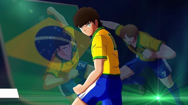 Aperçu de l'équipe du Brésil dans Captain Tsubasa: Rise of New Champions