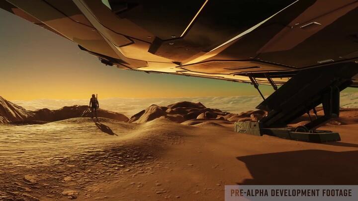 """Journal de développement d'Elite Dangerous: Odyssey - partie 1, """"Un pas de géant"""""""