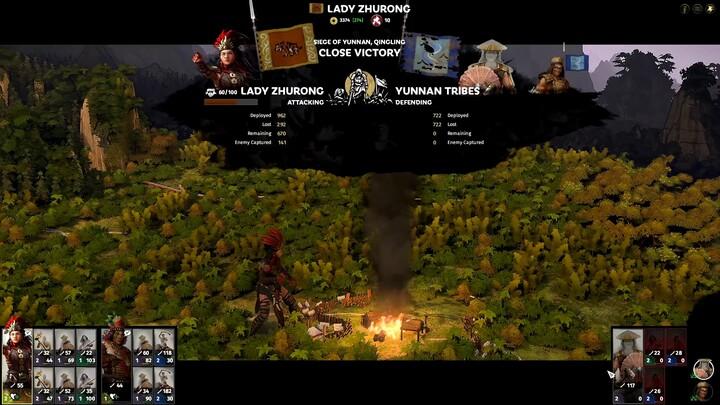 "Aperçu du gameplay de l'extension ""The Furious Wild"" de Total War: Three Kingdoms"