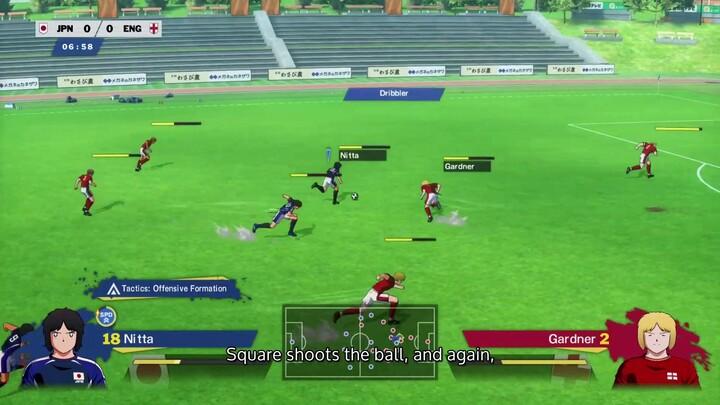 Comment jouer à Captain Tsubasa: Rise of New Champions