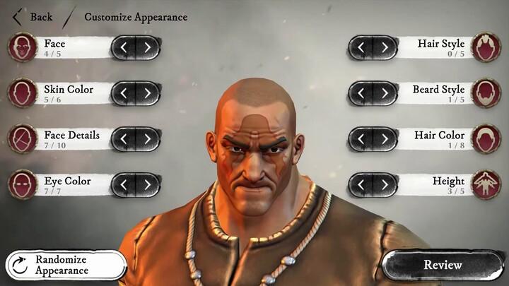 Aperçu de la création de personnage de Warhammer: Odyssey