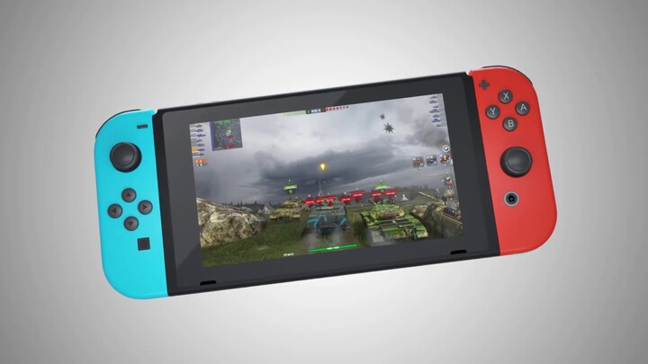 World of Tanks Blitz disponible aujourd'hui sur Nintendo Switch