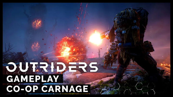 Aperçu du gameplay coopératif d'Outriders