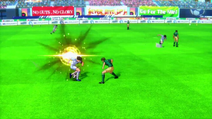 Le jeu de football orienté arcade Captain Tsubasa: Rise of the New Champions est disponible