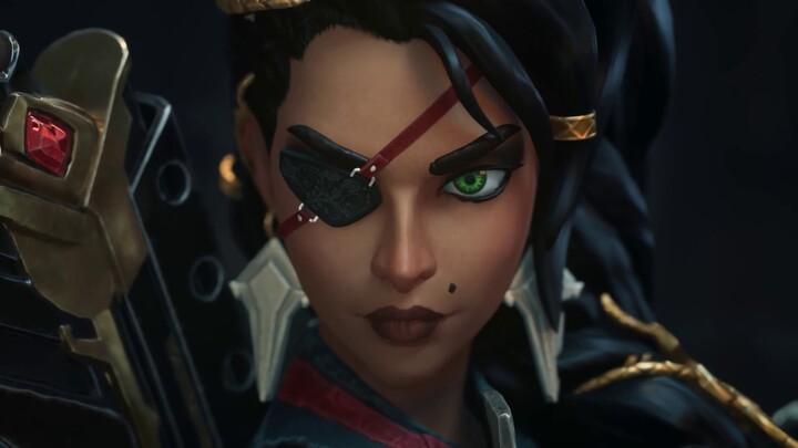 La championne de League of Legends Samira, la rose du désert, se dévoile en vidéo
