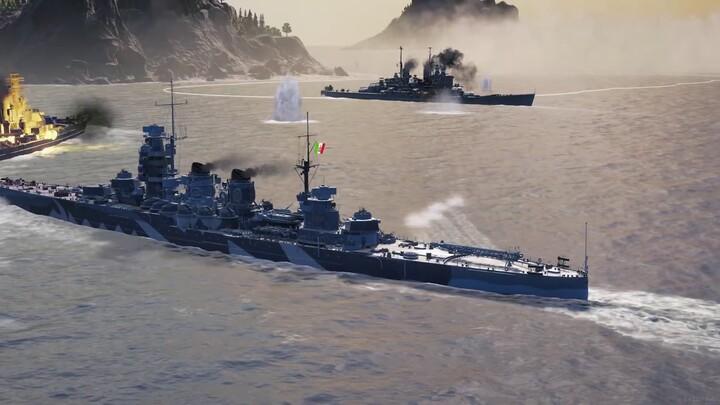 World of Warships: Legends présente sa mise à jour Veni, Vidi, Vici