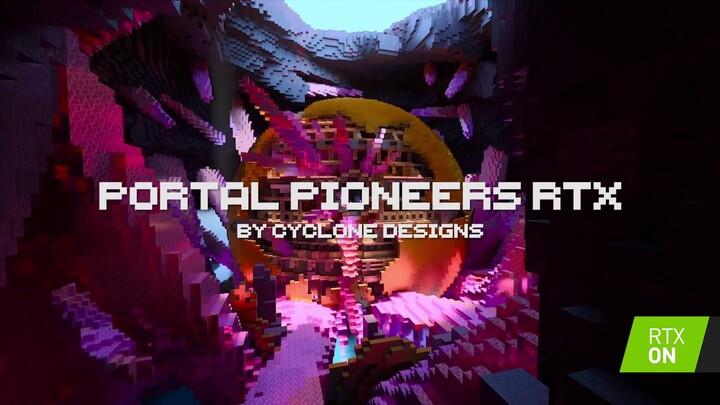 Deux nouveaux mondes pour Minecraft avec RTX