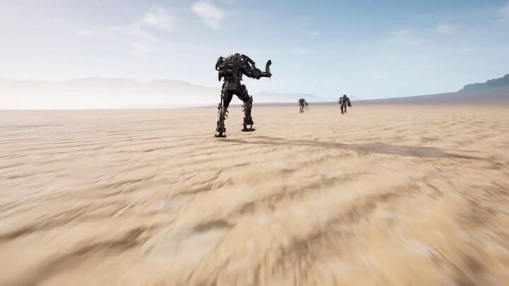 Aperçu du gameplay des Exosquelettes de Last Oasis