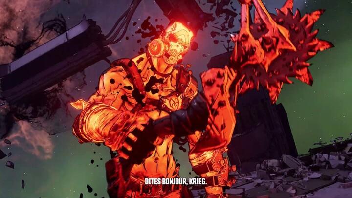 Le 4ème DLC de Borderlands 3 « Krieg le Sadique et l'Incroyable Butin de Pordel » est disponible