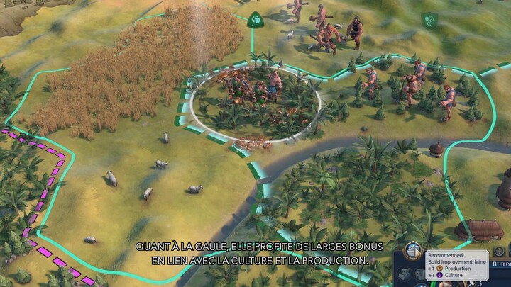 Byzance et la Gaule rejoignent Civilization VI avec le troisième DLC du Pass New Frontier