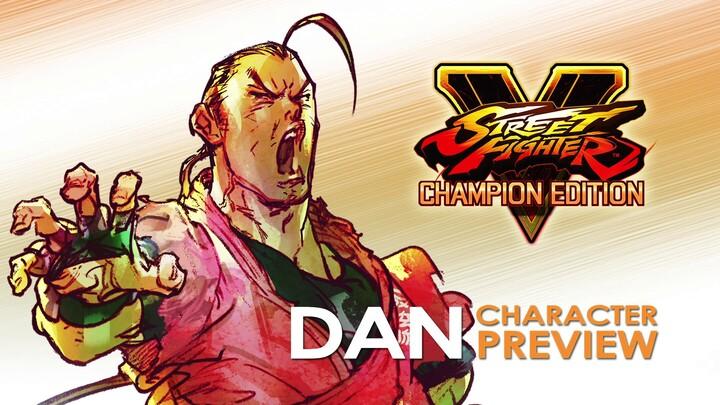 Aperçu de Dan Hibiki dans Street Fighter V