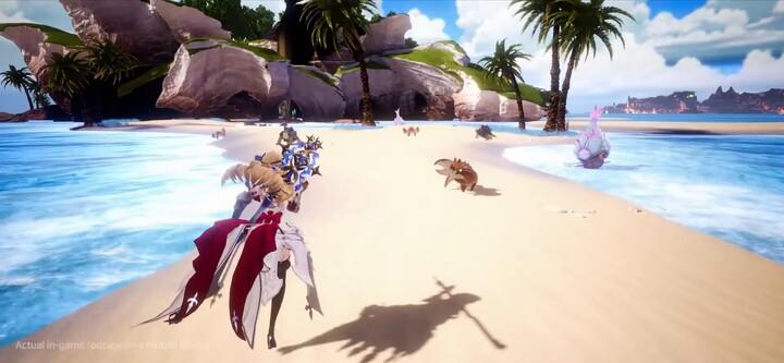Aperçu du gameplay du MMORPG Gran Saga