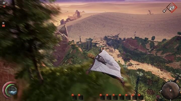 Aperçu du Wingsuit (aile volante) de Last Oasis