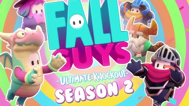 Fall Guys se propulse au Moyen Age pour sa deuxième saison