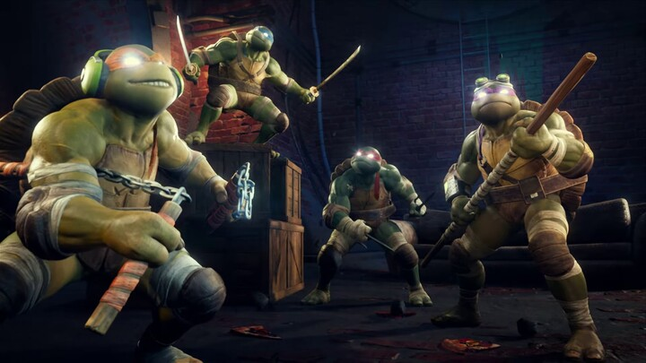 Les Teenage Mutant Ninja Turtles s'invitent dans le MOBA Smite