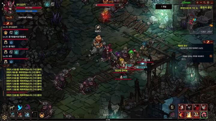 Le MMORPG Mad World illustre son gameplay (donjon)