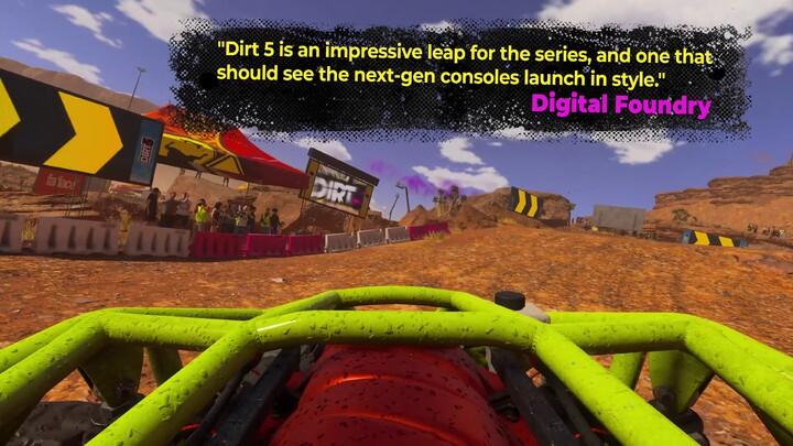 Bande-annonce du jeu de course tout-terrain DiRT 5 sur Xbox Series X