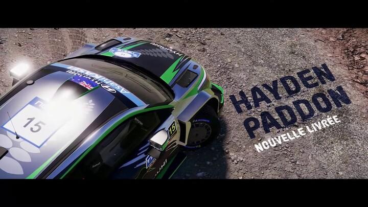 Une première mise à jour gratuite pour le jeu de rallye WRC 9