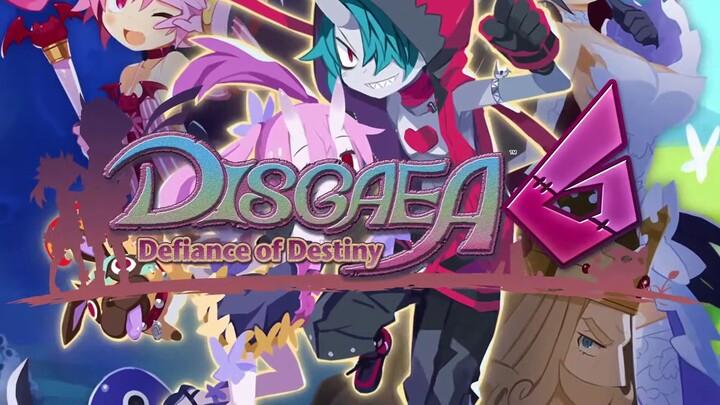Le RPG tactique Disgaea 6: Defiance of Destiny présente ses systèmes de jeu