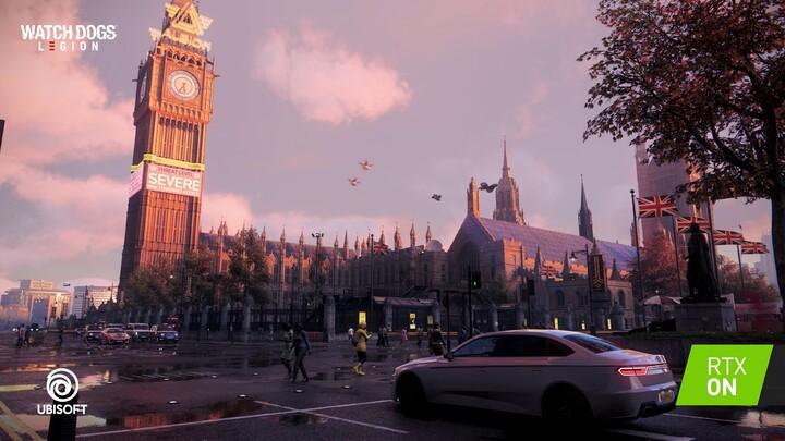 Bande-annonce de lancement de Watch Dogs: Legion pour GeForce RTX