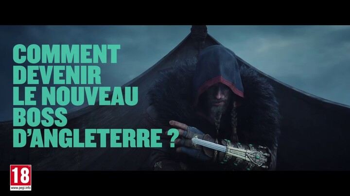Spot publicitaire cinématique d'Assassin's Creed Valhalla