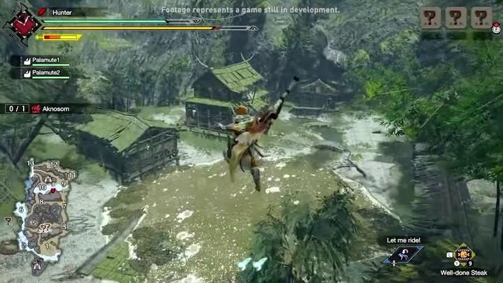 L'action-RPG Monster Hunter Rise présente sa Grande Epée, son Filoptère et ses Chumskys