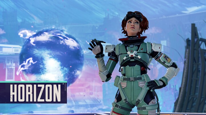 Aperçu d'Horizon, la manipulatrice gravitationnelle du battle royale Apex Legends