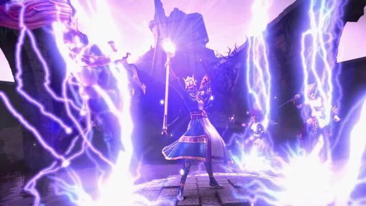 """Bande-annonce """"le Temps des Héros"""" du MMORPG mobile Warhammer Odyssey"""