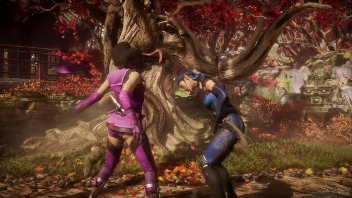 Aperçu du gameplay de Mileena dans Mortal Kombat 11 Ultimate