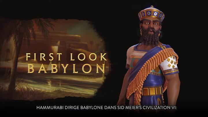 Aperçu de Babylone dans Civilization VI