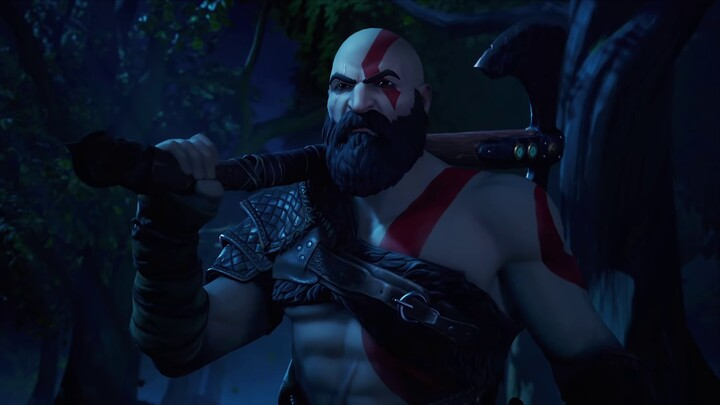 Kratos s'invite dans Fortnite