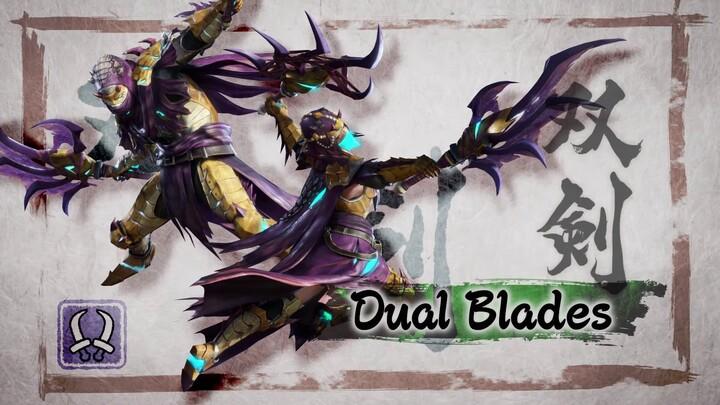 L'action-RPG Monster Hunter Rise présente ses lames doubles