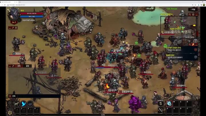 Aperçu du gameplay du MMORPG Mad World (2020)