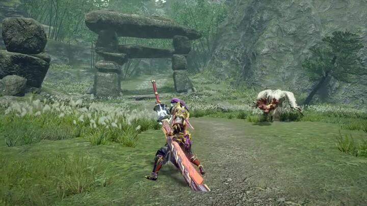L'action-RPG Monster Hunter Rise présente son épée longue