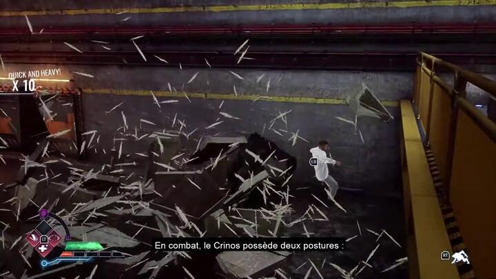 Aperçu du gameplay de Werewolf: The Apocalypse - Earthblood (VOSTFR)