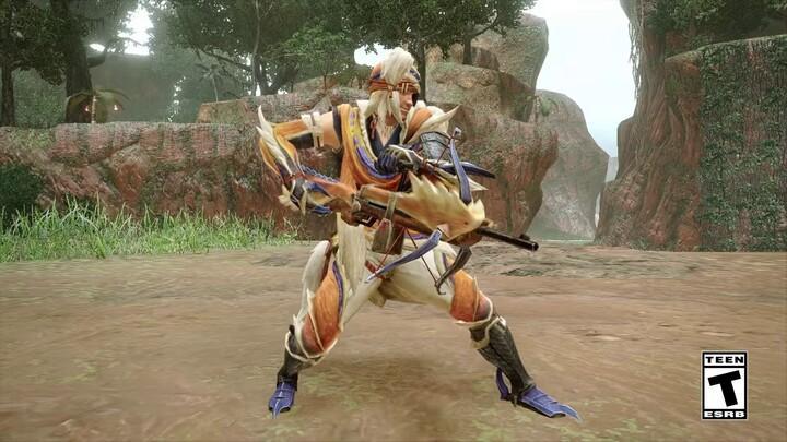 L'action-RPG Monster Hunter Rise présente sa fusarbalette légère