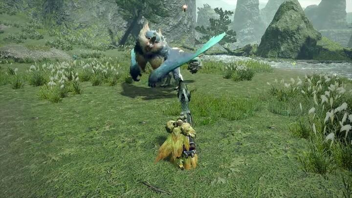 L'action-RPG Monster Hunter Rise présente sa fusarbalette lourde