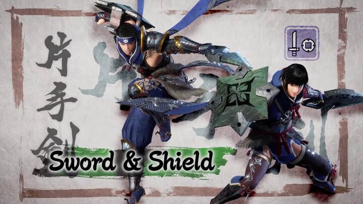 L'action-RPG Monster Hunter Rise présente son épée et bouclier