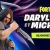 Michonne et Daryl, de The Walking Dead, arrivent dans Fortnite
