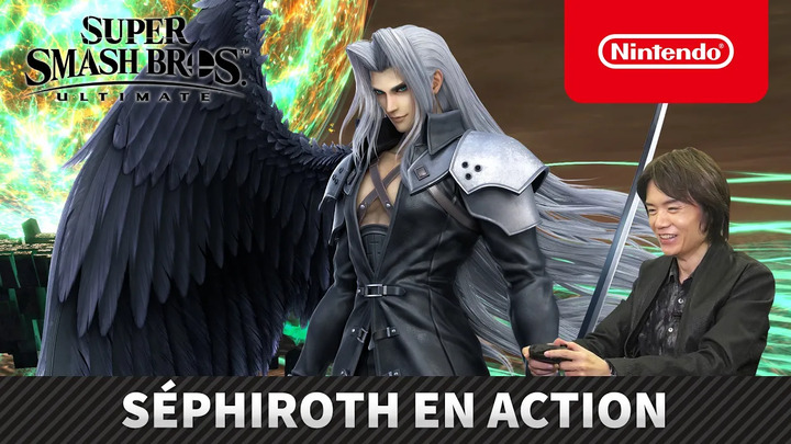 Super Smash Bros. Ultimate présente le gameplay de Séphiroth