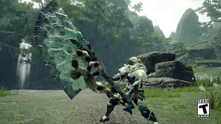 L'action-RPG Monster Hunter Rise présente sa grande épée