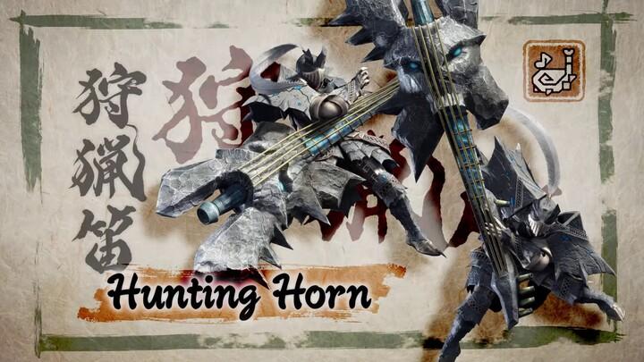 L'action-RPG Monster Hunter Rise présente sa corne de chasse