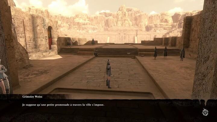 NieR Replicant ver.1.22474487139... présente le gameplay de son Temple stérile
