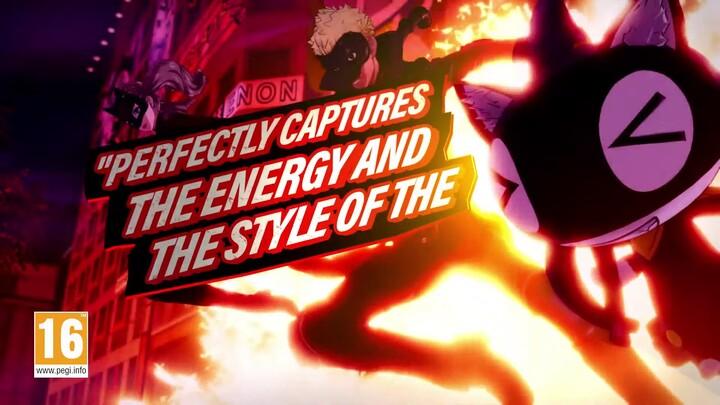 Bande-annonce de lancement de Persona 5 Strikers