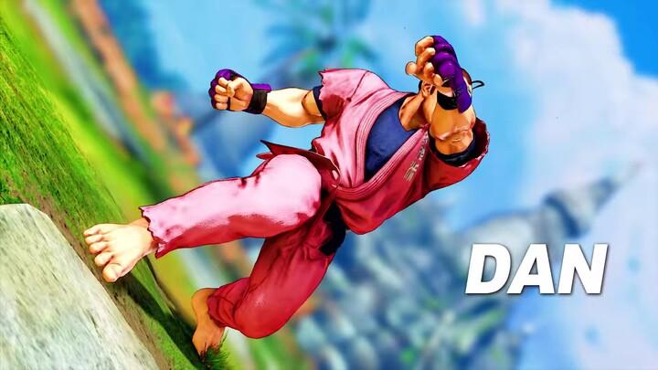 Présentation du gameplay de Dan dans Street Fighter V